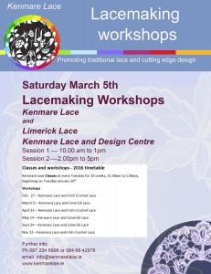 Workshops poster March 5 2016